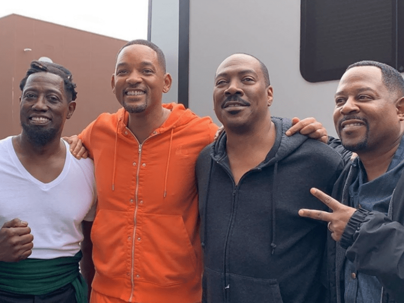 Will Smith Posts Up With Martin Lawrence, Wesley Snipes & Eddie Murphy