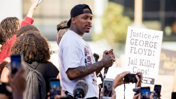 YG On Kanye West's Presidential Campaign: 'It's All Cap!'