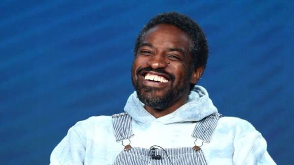 A Rare André 3000 Sighting Finds Him Happily Hanging Outside With His Flute