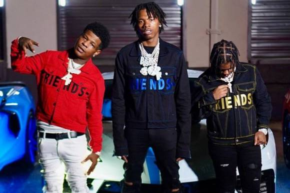 Lil Baby, Rylo Rodridguez & 42 Dugg Form 4PF Super Team For Luxe Video Shoot