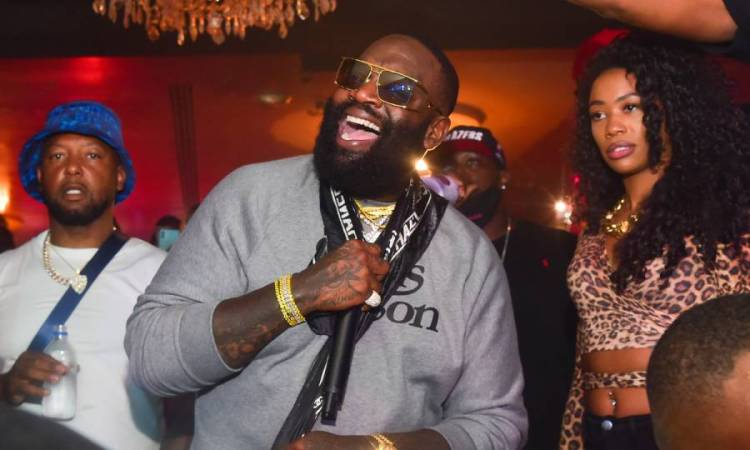 Rick Ross Dubs Himself 'Rozay Woods' Following Weekend Golf Outing With Dwyane Wade
