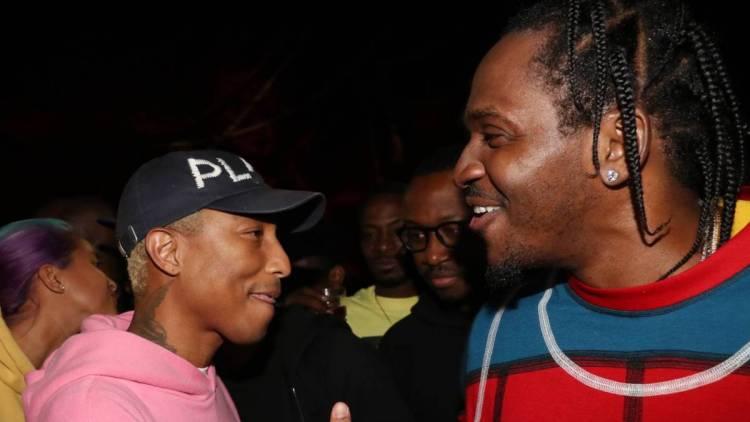 Pusha T Adopts 'Cocaine's Dr. Seuss' Nickname With Latest Pharrell Studio Meet-Up