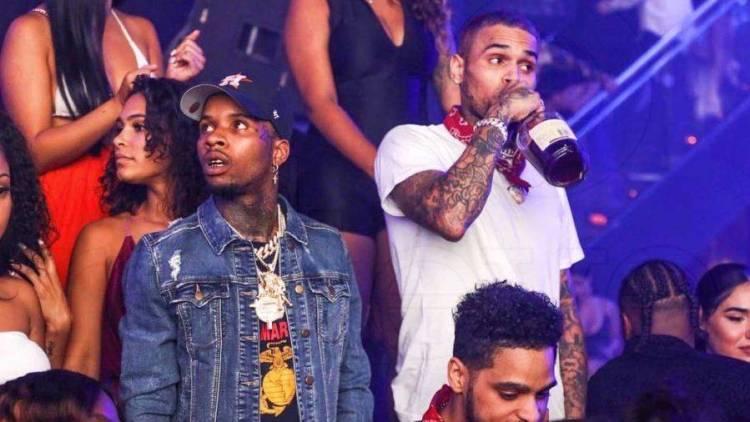 Chris Brown & Tory Lanez Joint Album Announcement Draws Domestic Violence Jokes On Twitter