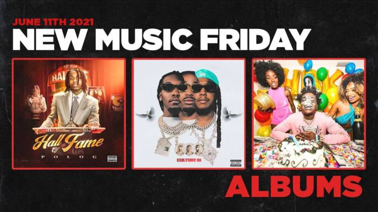 New Music Friday - New Albums From Migos, Polo G, Kodak Black, Larry June + More