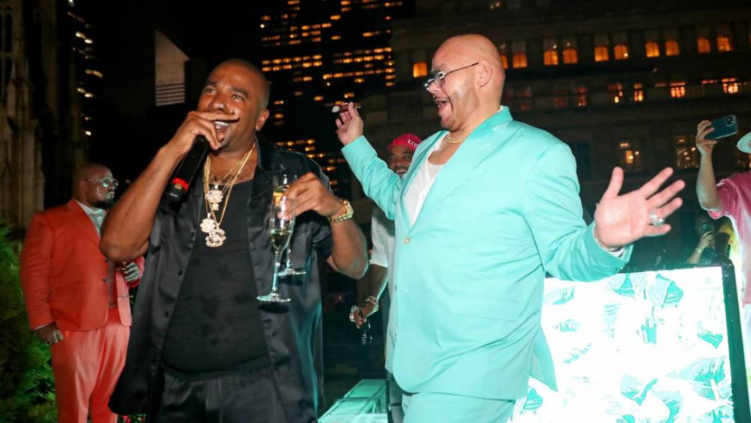 Fat Joe Puts N.O.R.E. On The Spot To Perform 'Superthug' At His 51st Birthday Party