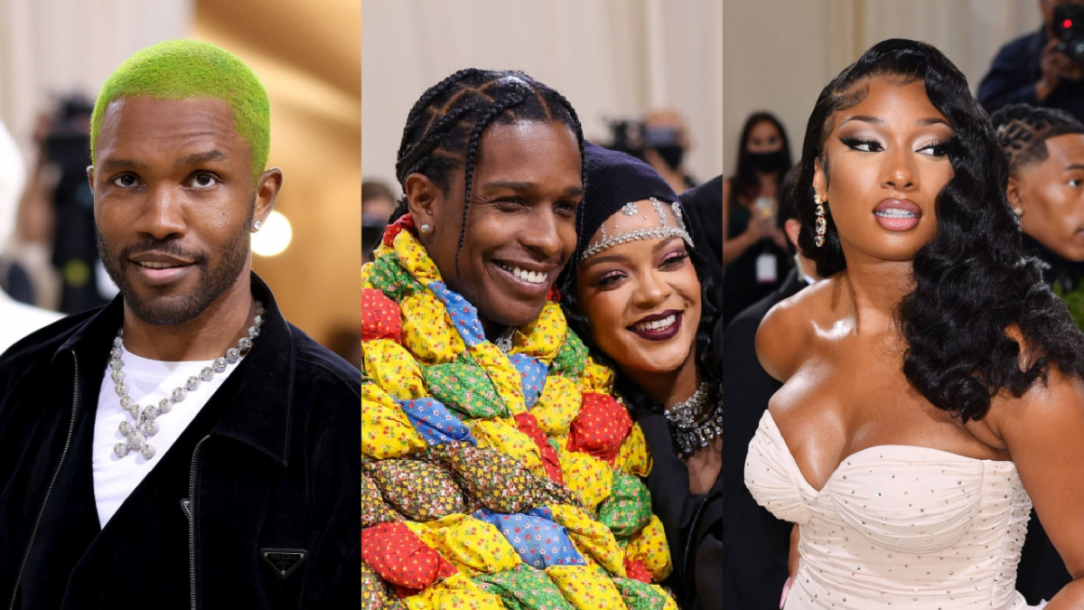 Frank Ocean, A$AP Rocky, Rihanna + More Step Out In Style At 2021 Met Gala