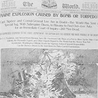 Example of Yellow Journalism in the cover of the Pulitzer's World