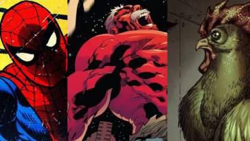 les sept faiblesses les plus bizarres des héros de Marvel