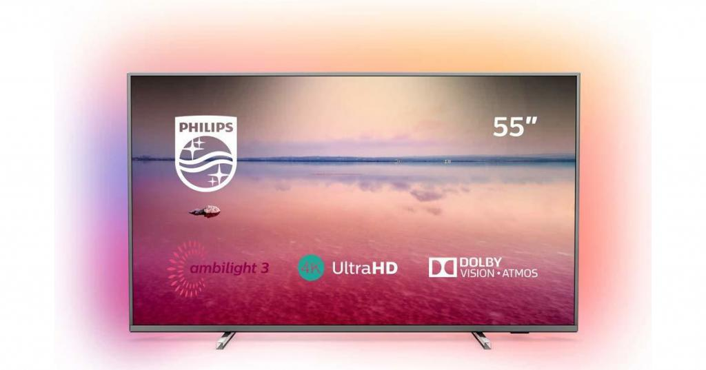 tv led 4k ambilight de chez philips