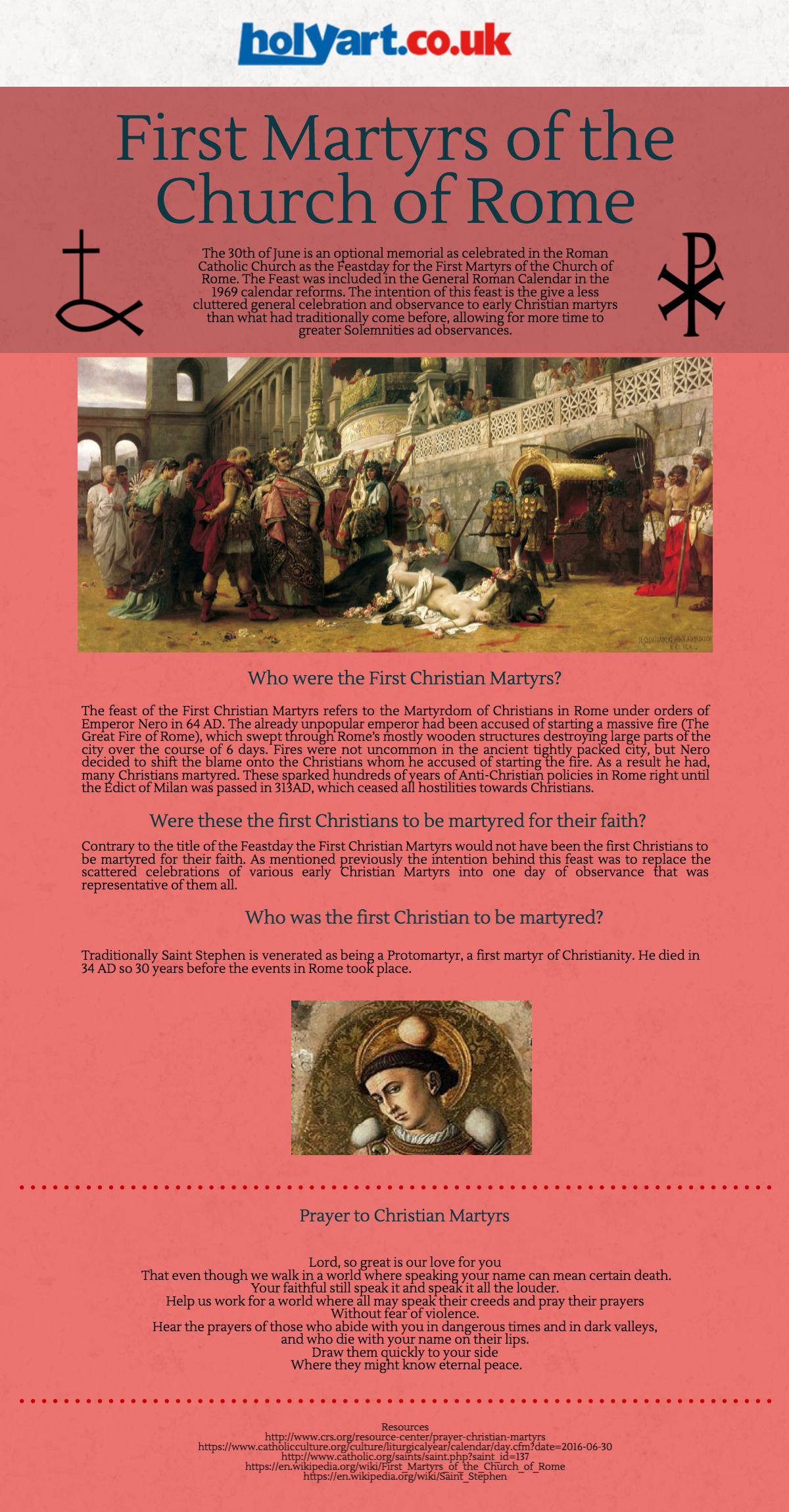 First Martyrs of the Church of Rome