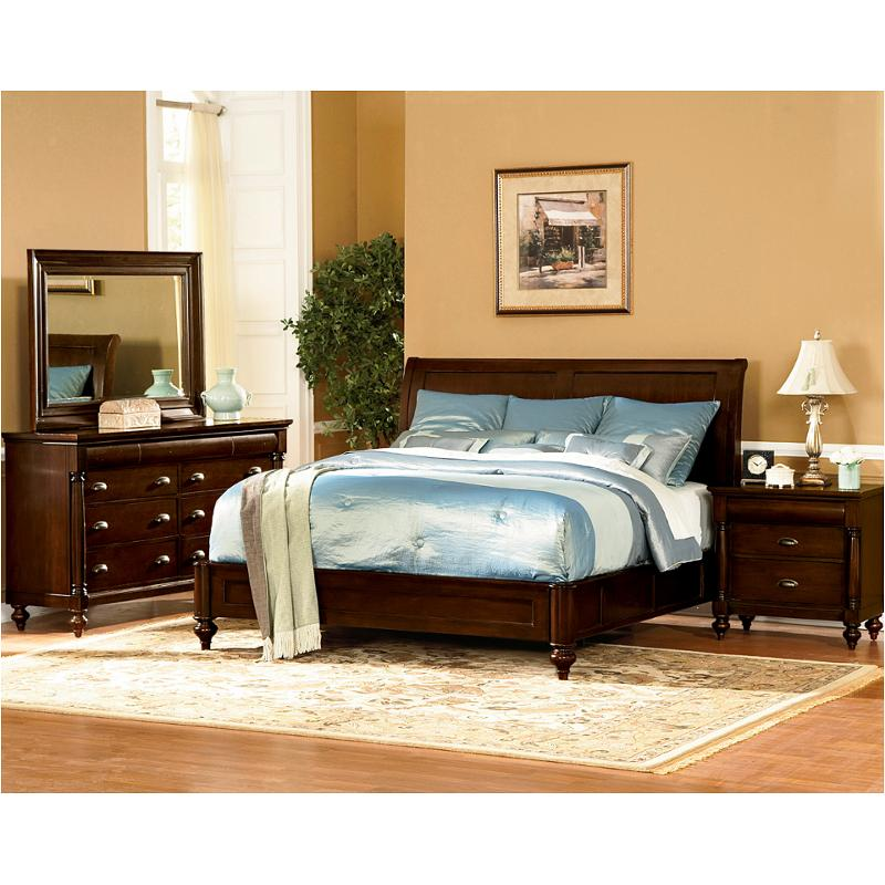 1815 94k1 flexsteel wynwood furniture harrison king sleigh bed