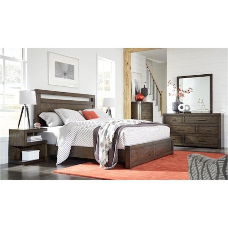 iml 412 brn aspen home furniture modern loft queen panel bed