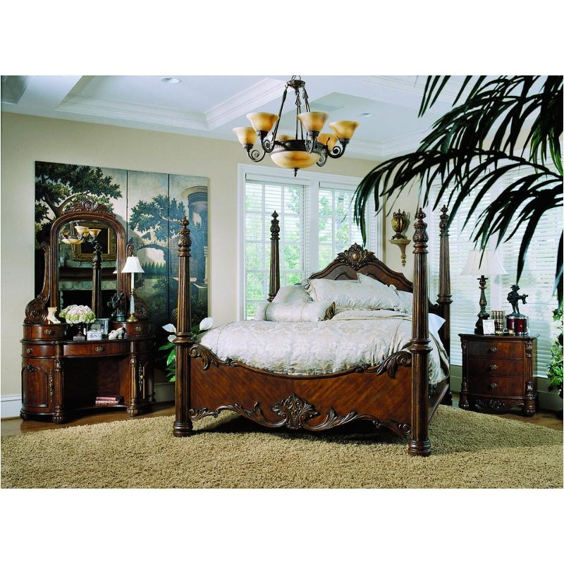 242160 pulaski furniture edwardian eastern king poster bed