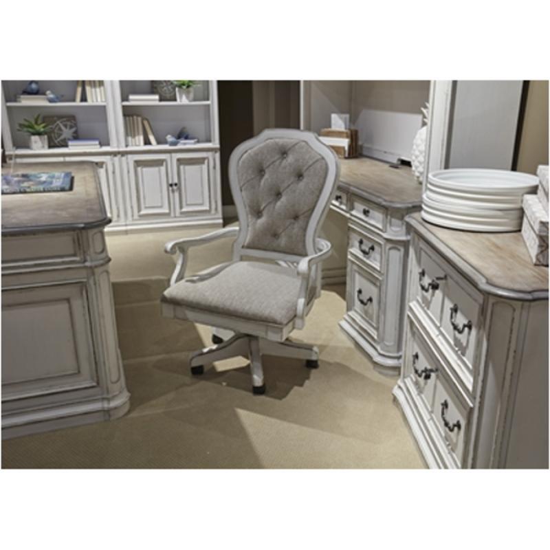 244 ho197 liberty furniture magnolia manor jr executive desk chair