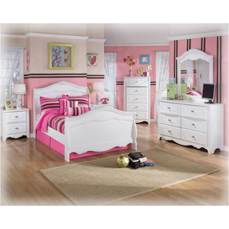 b188 26 ashley furniture exquisite white bedroom mirror