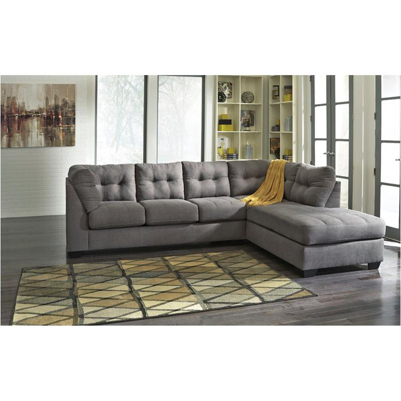 4520066 ashley furniture maier charcoal laf sofa
