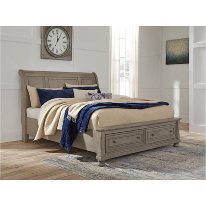 b733 77 ashley furniture lettner queen sleigh bed
