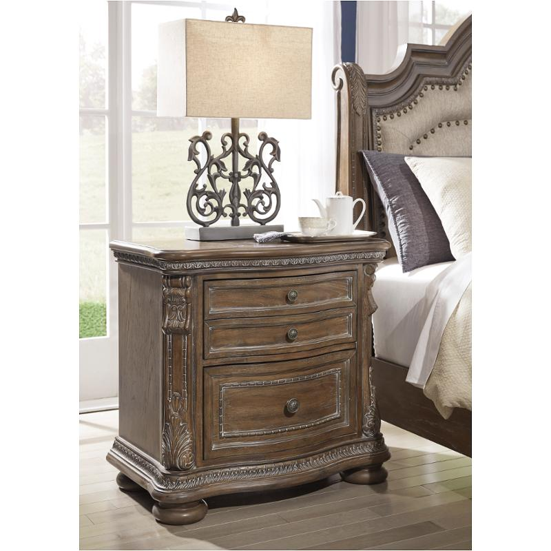 Somewhere to house a lovely lamp, your evening book and your morning coffee? b803 92 ashley furniture charmond 2 drawer nightstand