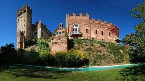 Castelul situat pe colinele din Monferrato, în Piamonte, de aproape 6.000 de metri pătrați, aproximativ șapte milioane de euro. Fotografie: Lionard Luxury Real Estate.