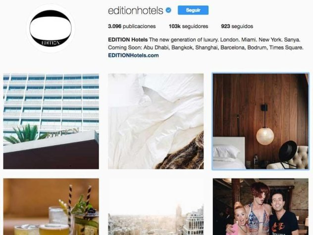 Profită la maxim de singurul link pe care ti-l permite Instagram este una dintre principalele provocări a acestei unități de cazare pe această rețea socială.