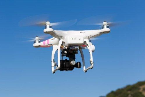 Imagine: o dronă de uz comercial.
