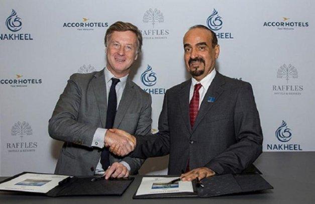 Brandul de lux Raflles își va face debutul în Dubai în 2021