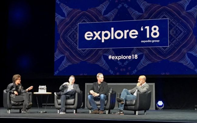 Una dintre dezbaterile de la explore'18. Fotografie: Expedia for Properties.
