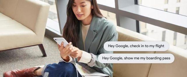 În Statele Unite pot fi scoase prin voce cardurile de îmbarcare cu Google Assitant.