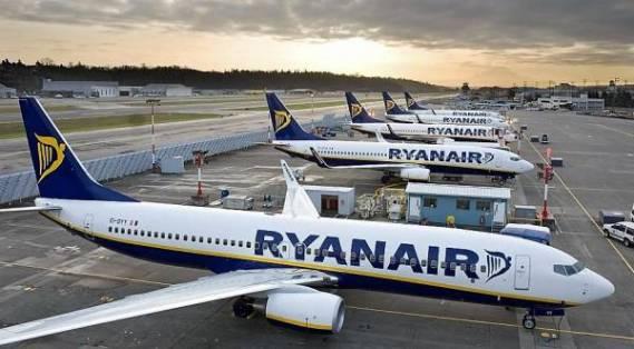 Ryanair, afectată de întârzierea de livrare a noilor avioane.