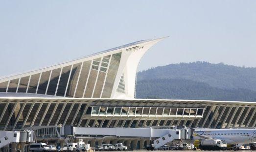 Aeroportul din Bilbao, câștigătorul la categoria de aeroporturi cu un trafic de între 5 și 10 milioane de pasageri.
