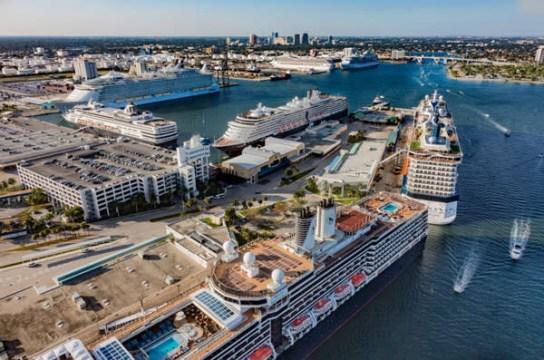 Port Everglades, terminalul de croaziere al Fort Lauderdale