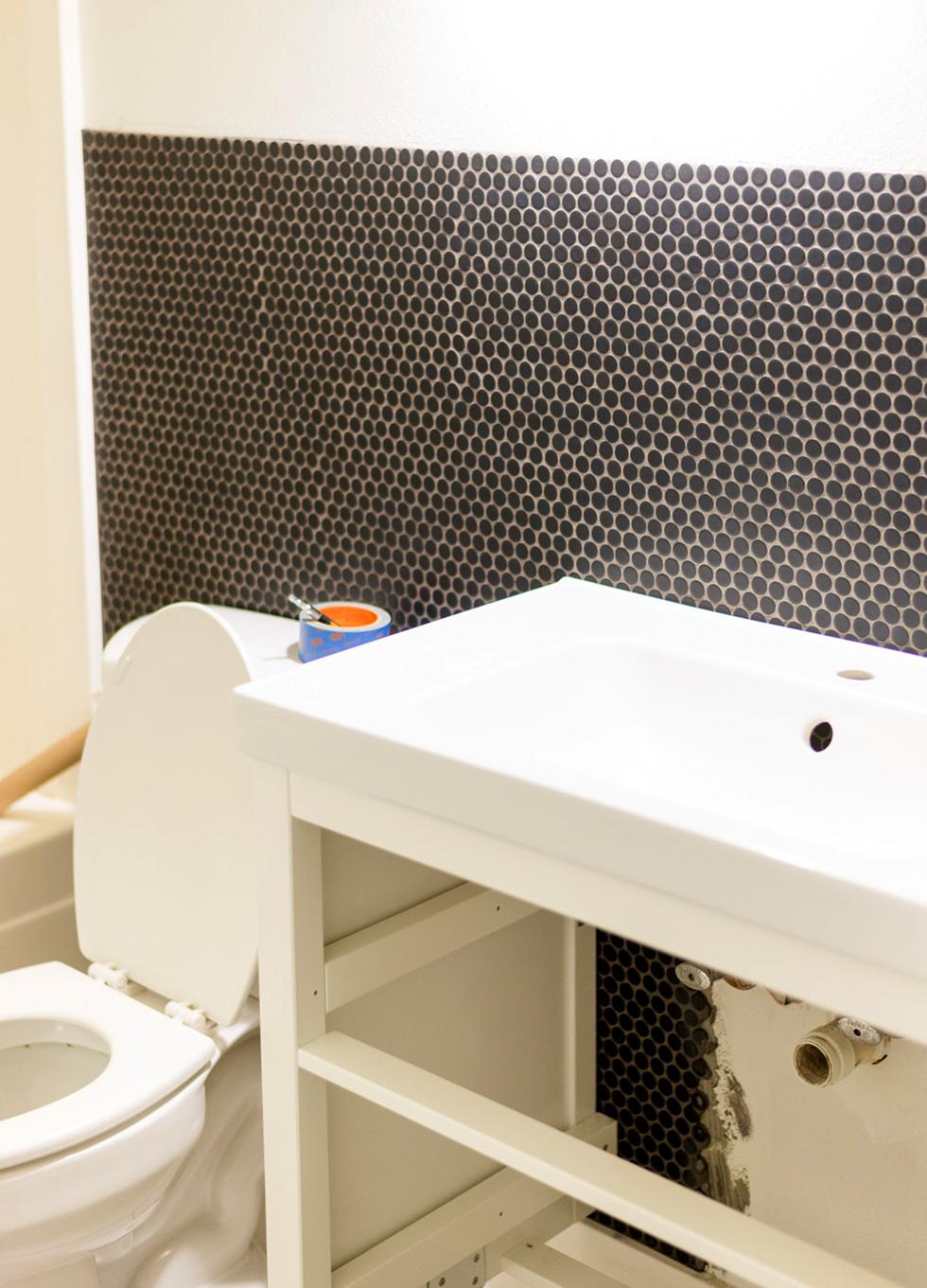 diy bathroom renovation on a budget