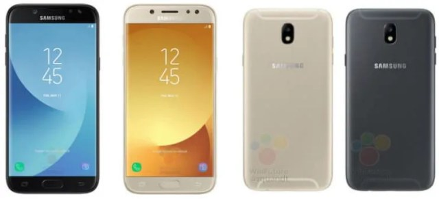 Samsung Galaxy J5 and J7 2017 leaked images