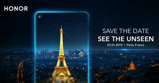 Honor view 20 january 22 launch