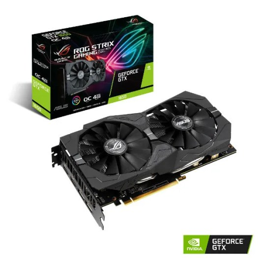 Nvidia GeForce 1650 Asus