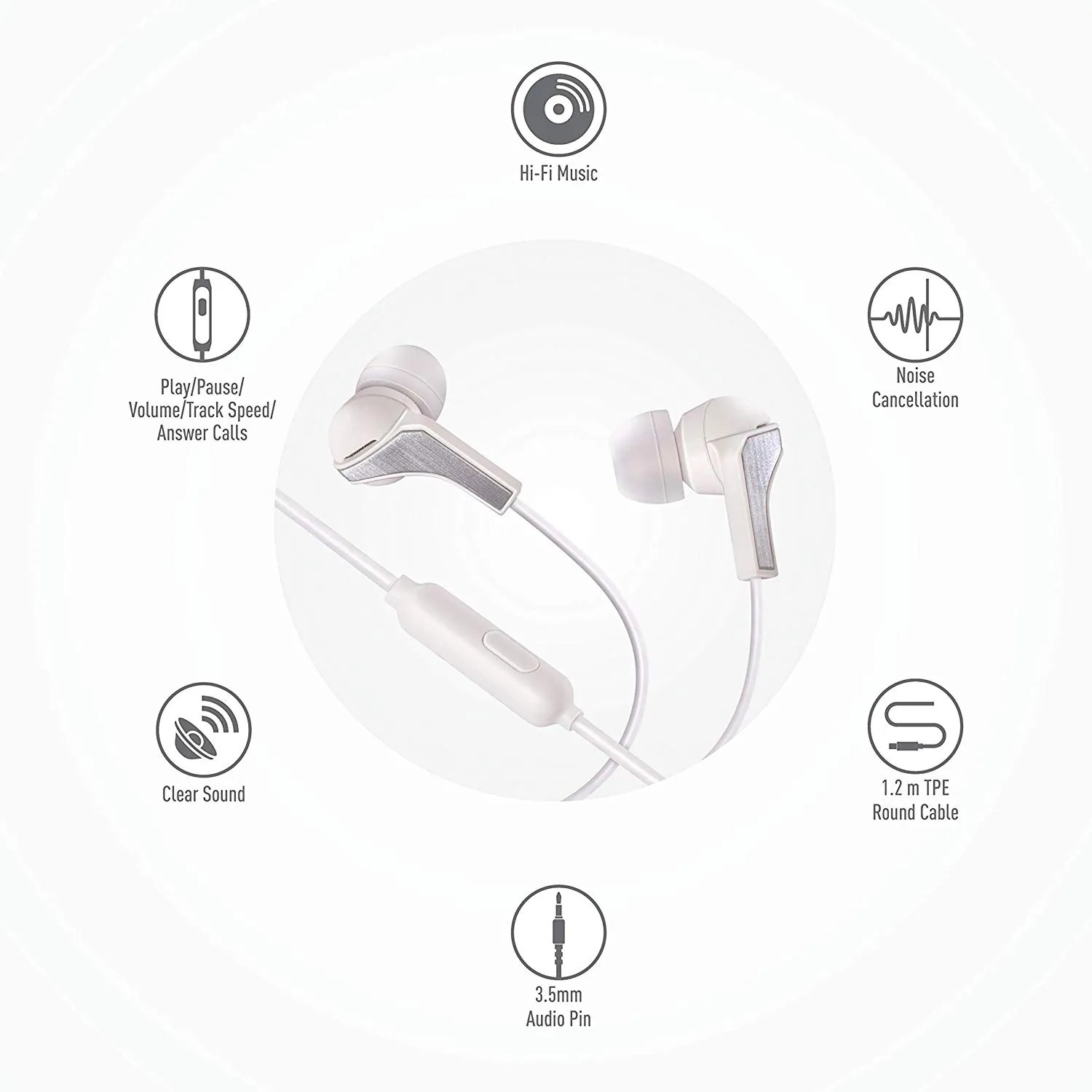 Syska Beat Pro Earphones With Noise Cancellation Launched