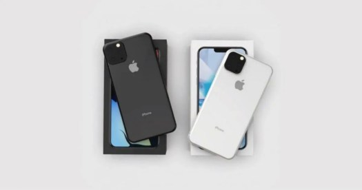 The iPhone 11 and iPhone 11 Max could be the first Apple smartphones with triple rear cameras.