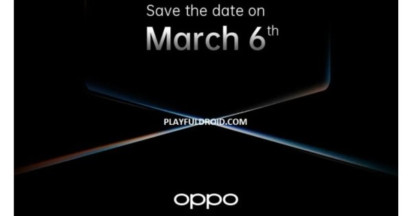 OPPO Find X2 leaked launch event invite suggests March 6th unveil