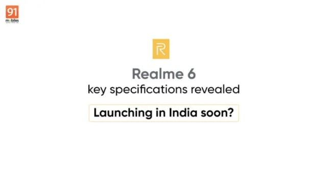 realme 6 specifications price india launch