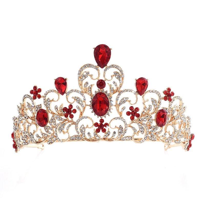 Baroque Bridal Wedding Tiara Crown