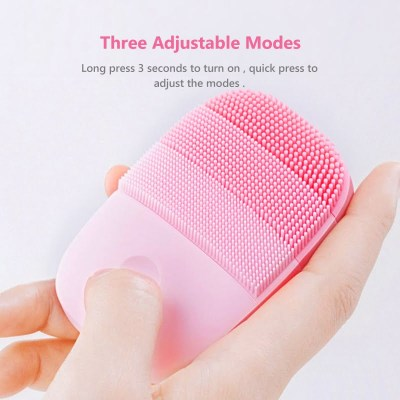 Waterproof Silicone Electric Facial Cleanser