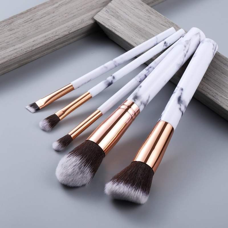10 Pcs Foundation Eyeshadow Brush Set