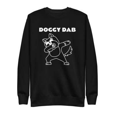 Warm Doggy DAB Unisex Fleece Pullover
