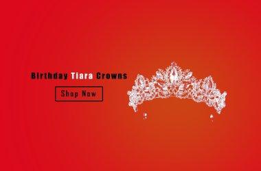 Hupplie Birthday Tiaras