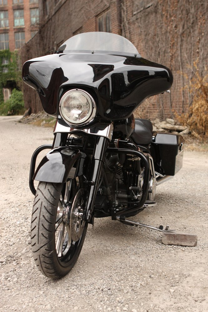 Barnett's Magazine: PROCHARGER SUPERCHARGES A MULE - Harley