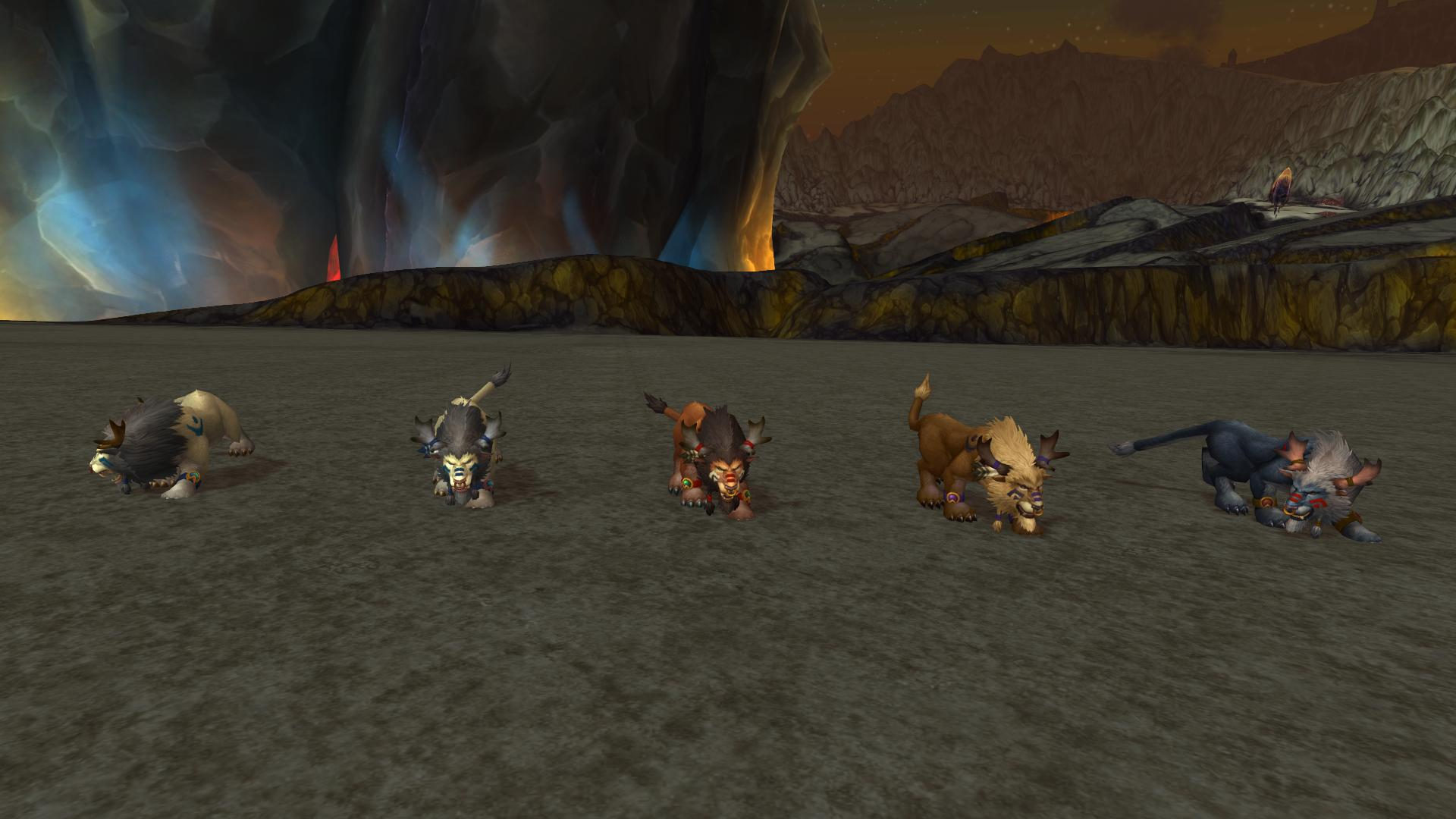 Highmountain Tauren Druid Forms In Battle For Azeroth