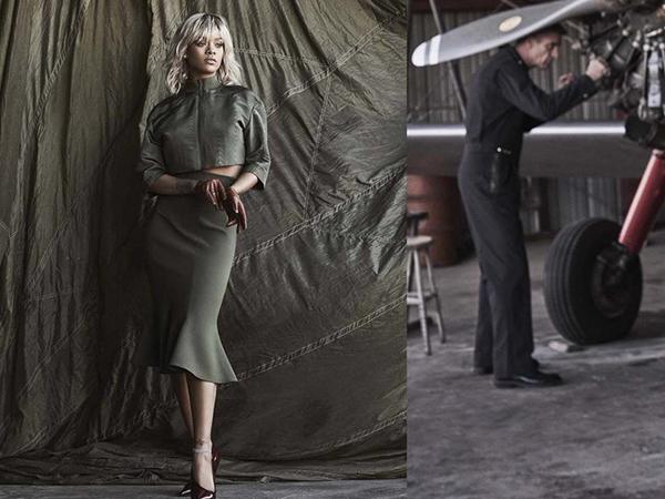 RiRi's Stunning 'Harper's Bazaar' Shoot
