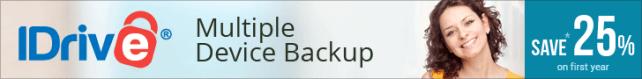 IDrive Remote Backup