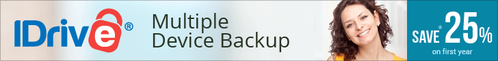 IDrive Remote Backup