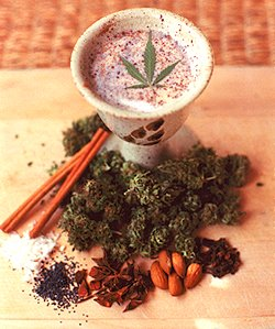 Bhang-Marijuana Milk picture
